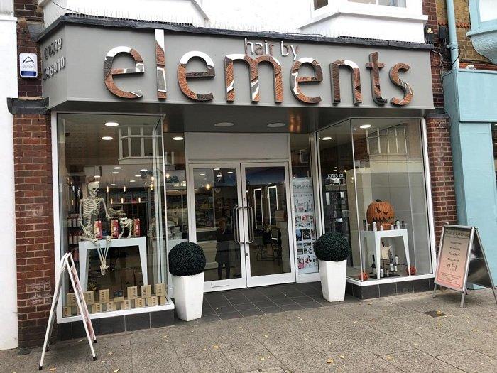 hair by elements hair salon bishops stortford hertfordshire