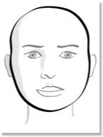 round face hair