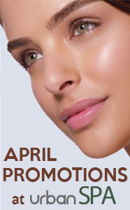 April Facial Promotions at Urban Spa