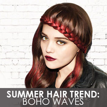 The Ultimate Summer Hair Trend: Boho Waves