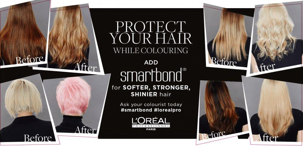 LOREAL SMARTBOND elements hair salon in bishops stortford