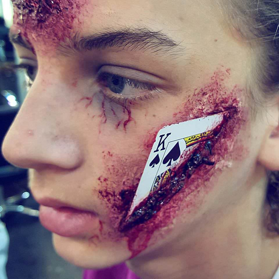 Halloween Special FX Make up at Elements