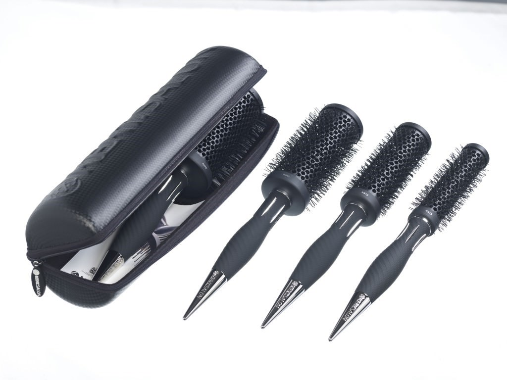 kent brushes at elements hair salon bishop's stortford
