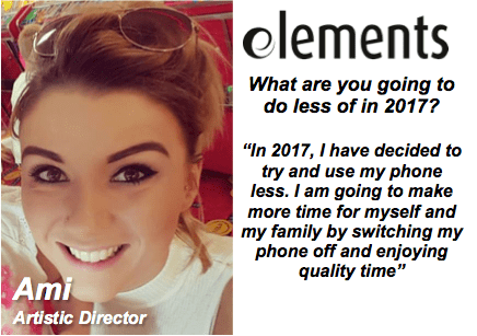 Staff New Year Resolutions