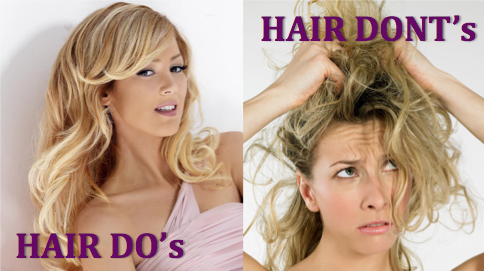 Haircare Do's and Don'ts