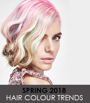 Spring 2018 Hair Colour Trends