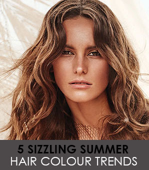 5 Hot Summer Hair Colours
