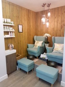 nails lounge at elements hair & beauty salon in bishop's stortford