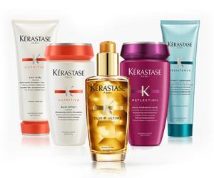 kerastase hair products, top hairdressing salon, bishop's stortford