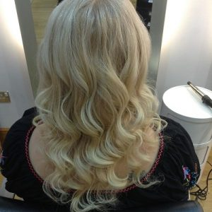 WAVY HAIRSTYLES FOR BRIDES, Hertfordshire hair salon Hair by Elements