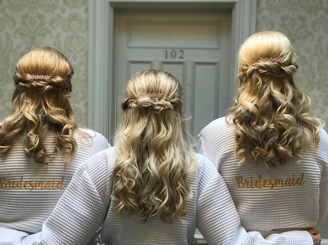 WEDDING HAIR FOR BRIDESMAIDS, Hair by Elements Hair Salon, Bishop's Stortford, Hertfordshire & Essex