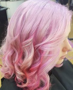 PASTEL HAIR COLOUR HAIR BY ELEMENTS HAIRDRESSERS BISHOPS STORTFORD