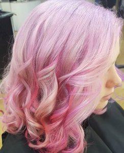 PASTEL HAIR COLOUR HAIR BY ELEMENTS HAIRDRESSERS BISHOPS STORTFORD