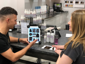 Things your stylist shoud discuss with you, hair salon, hair by elements, bishop's stortford