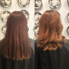 autumn red hair colours best hair salon in bishops stortford