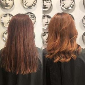 autumn red hair colours best hair salon in bishops stortford