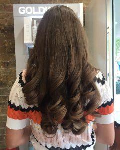 brunette hair colour hair by elements hairdressers bishops stortford