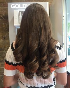 brunette hair colour hair by elements hairdressers bishops stortford