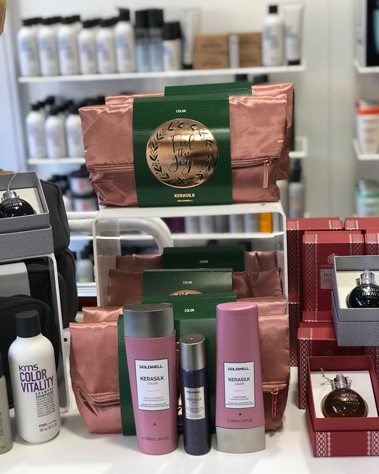 kerasilk christmas gift sets hair by elements hair salon in bishops stortford
