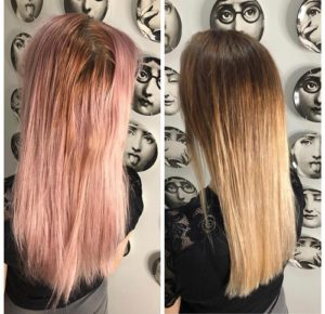 hair colour correction hair by elements hair salon bishops stortford herts