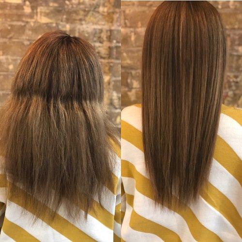 hair straightening goldwell structure and shine treatment Hertfordshire Hair Salon