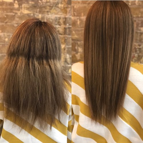 hair straightening goldwell structure and shine treatment Hertfordshire Hair Salon