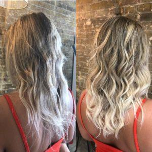 blonde balayage best hairdressers in bishops stortford hertfordshire