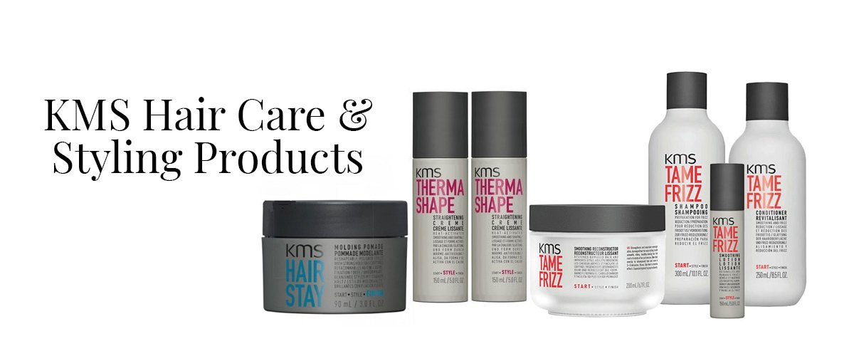 KMS Hair Care Styling Products at online shop, hertfordshire and essex