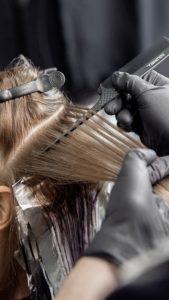 hair colour correction at best hair dressing salon in Hertfordshire