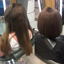 Hair Cuts Before and After at Hair by Elements Hairdressers in Bishop's Stortford