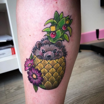 HEDGEHOG TATTOO, Two Cats Tattoo Studio, Hair by Elements hair salon in Bishop's Stortford