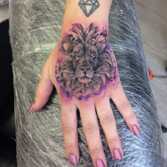 LION TATTOO, Two Cats Tattoo Studio, Hair by Elements hair salon in Bishop's Stortford