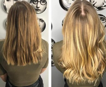 Balayage Hair by Elements Hairdressers in Bishop's Stortford